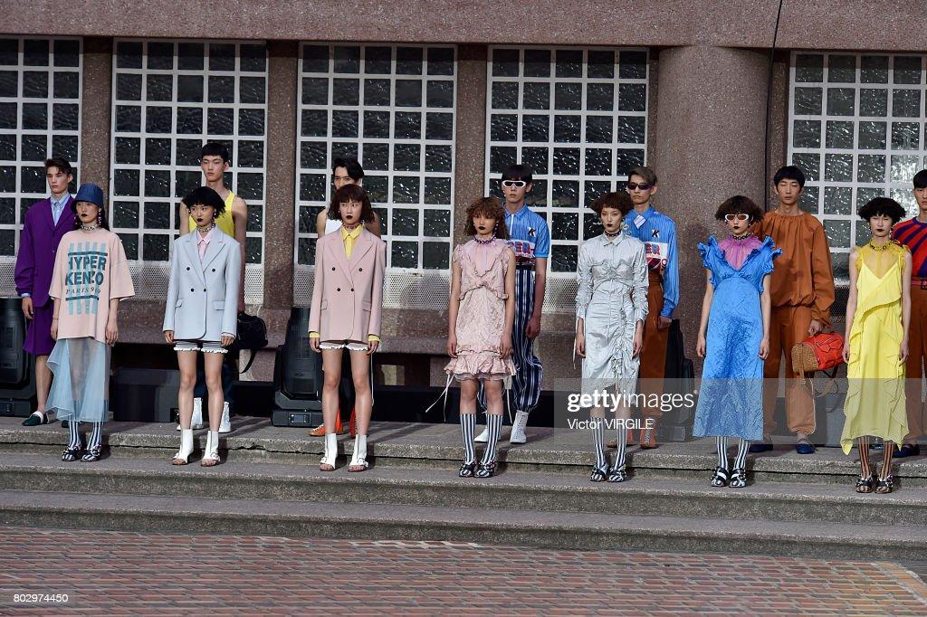 Kenzo : Runway - Paris Fashion Week - Menswear Spring/Summer 2018 : News Photo