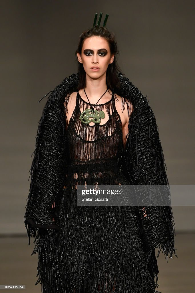 NZL: Kiri Nathan - Runway - New Zealand Fashion Week 2018