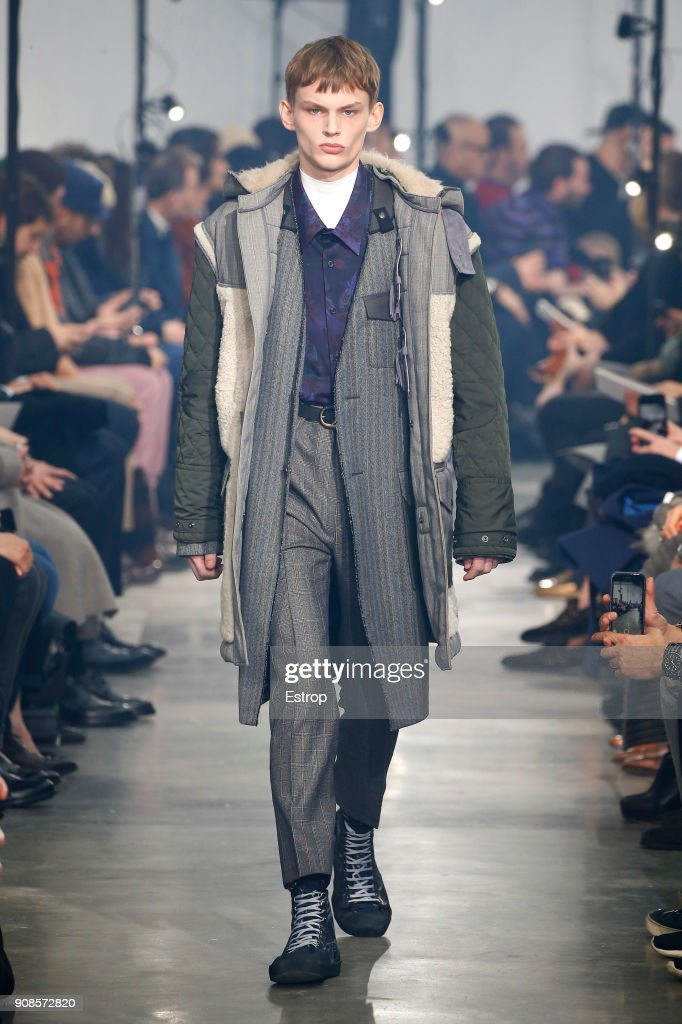 Lanvin : Runway - Paris Fashion Week - Menswear F/W 2018-2019 : ニュース写真