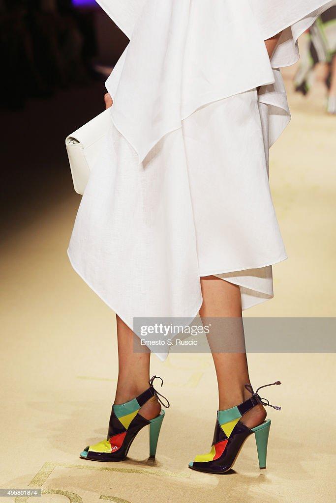Laura Biagiotti - Runway - Milan Fashion Week Womenswear Spring/Summer 2015 : News Photo