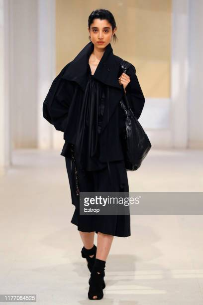 Model walks the runway during the Lemaire Womenswear Spring/Summer 2020 show as part of Paris Fashion Week on September 25, 2019 in Paris, France.
