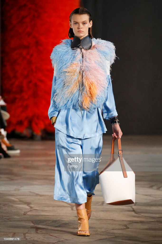 Loewe : Runway - Paris Fashion Week Womenswear Spring/Summer 2019 : ニュース写真