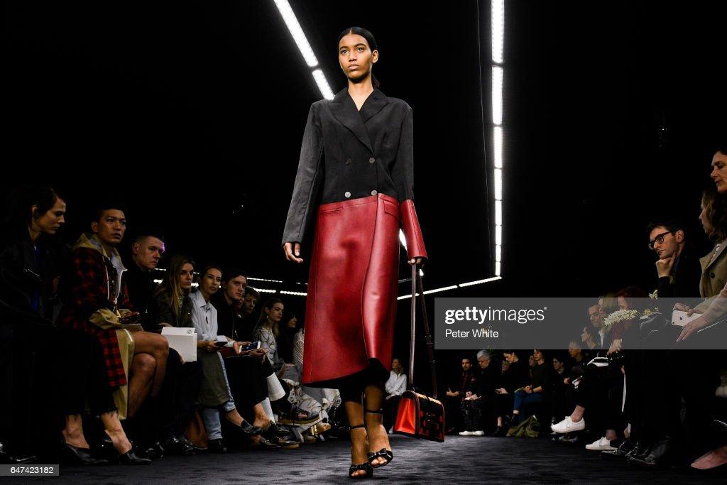Loewe : Runway - Paris Fashion Week Womenswear Fall/Winter 2017/2018 : News Photo
