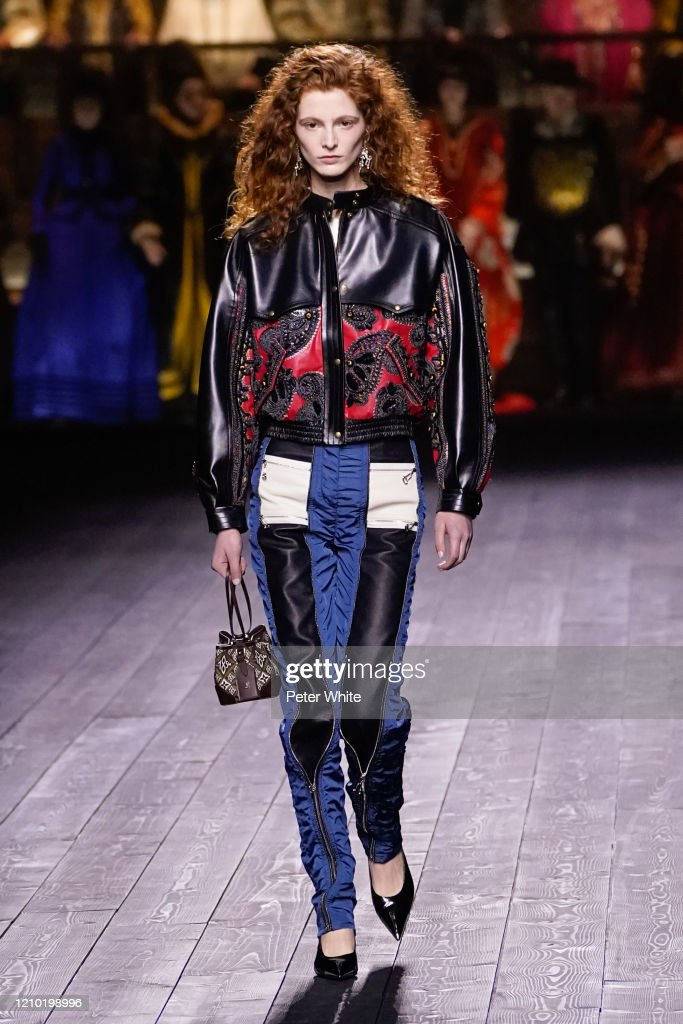 Louis Vuitton : Runway - Paris Fashion Week Womenswear Fall/Winter 2020/2021 : ニュース写真