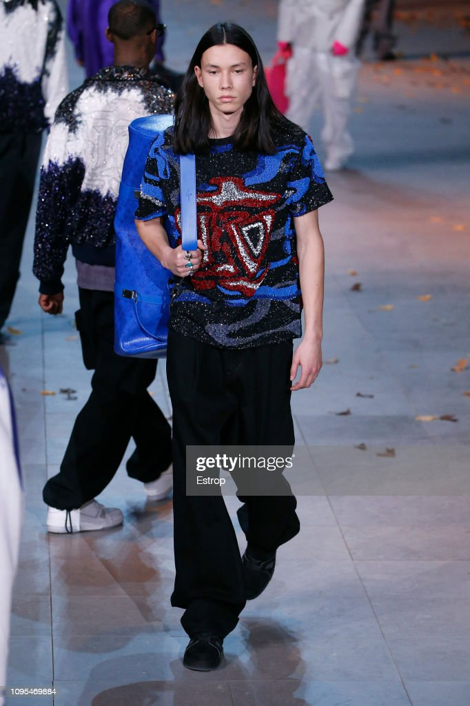 Louis Vuitton : Runway - Paris Fashion Week - Menswear F/W 2019-2020 : News Photo