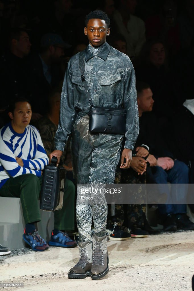 Louis Vuitton : Runway - Paris Fashion Week - Menswear F/W 2018-2019 : News Photo