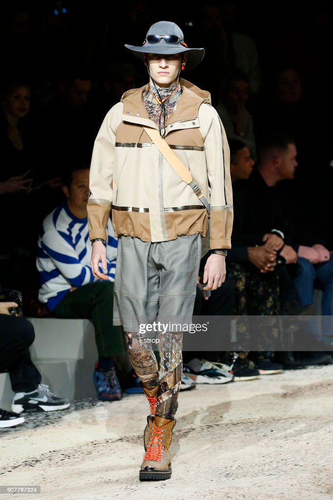 Louis Vuitton : Runway - Paris Fashion Week - Menswear F/W 2018-2019 : Fotografía de noticias