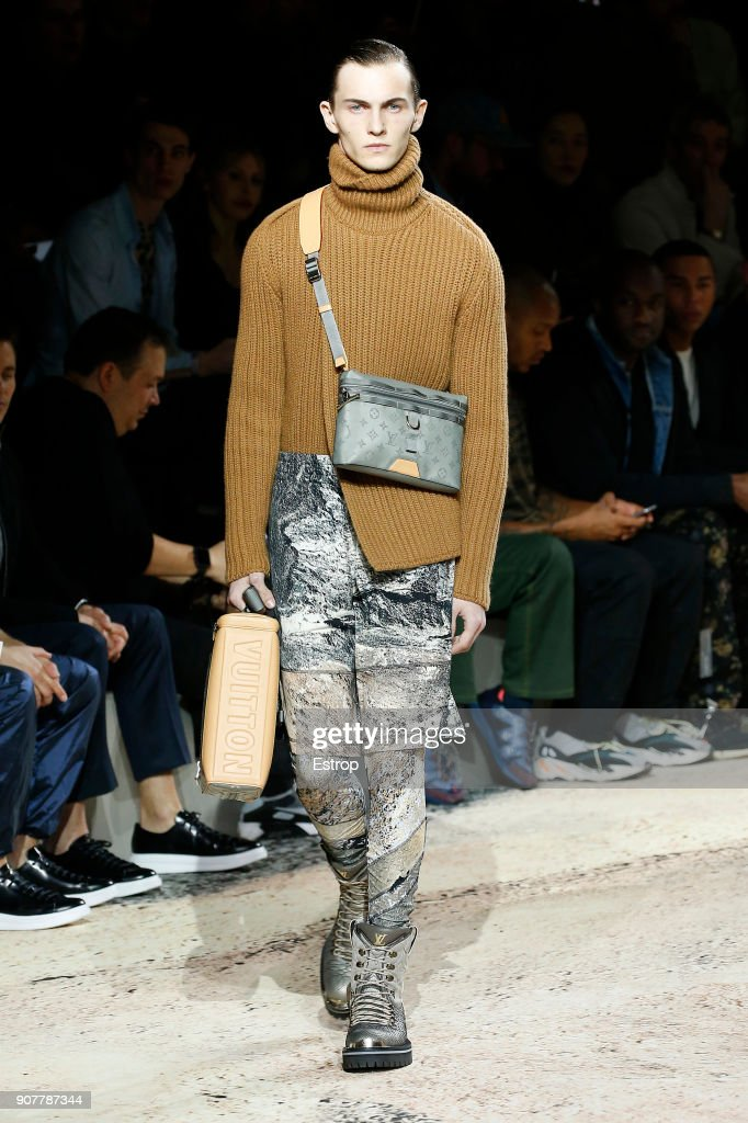 Louis Vuitton : Runway - Paris Fashion Week - Menswear F/W 2018-2019 : ニュース写真