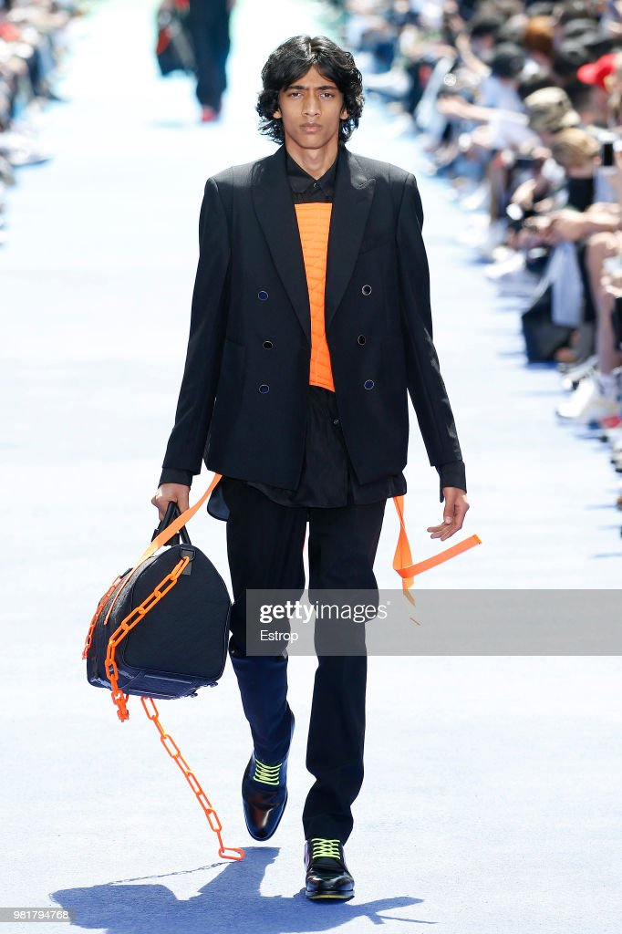 Louis Vuitton: Runway - Paris Fashion Week - Menswear Spring/Summer 2019 : ニュース写真
