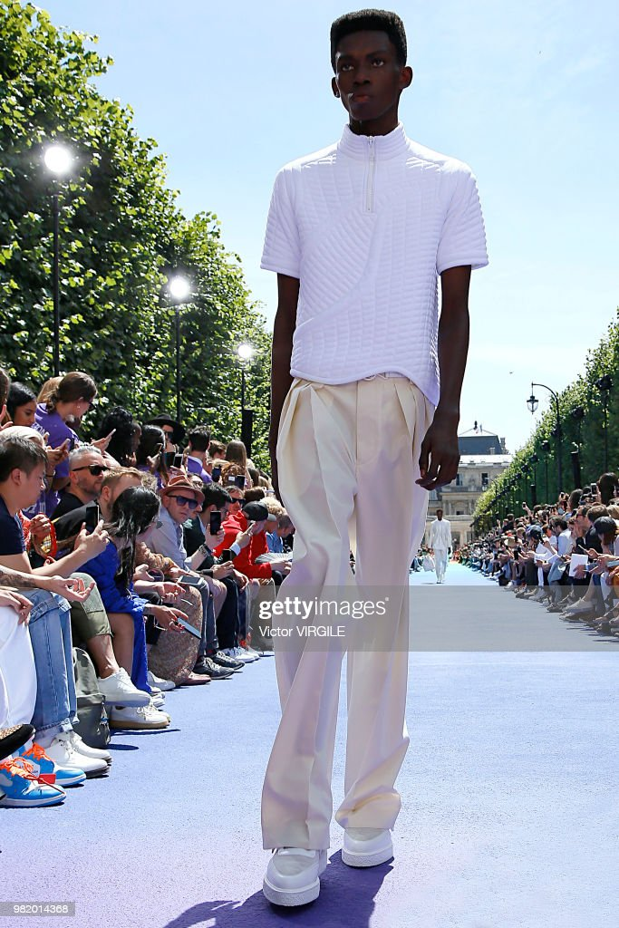 Louis Vuitton : Runway - Paris Fashion Week - Menswear Spring/Summer 2019 : ニュース写真