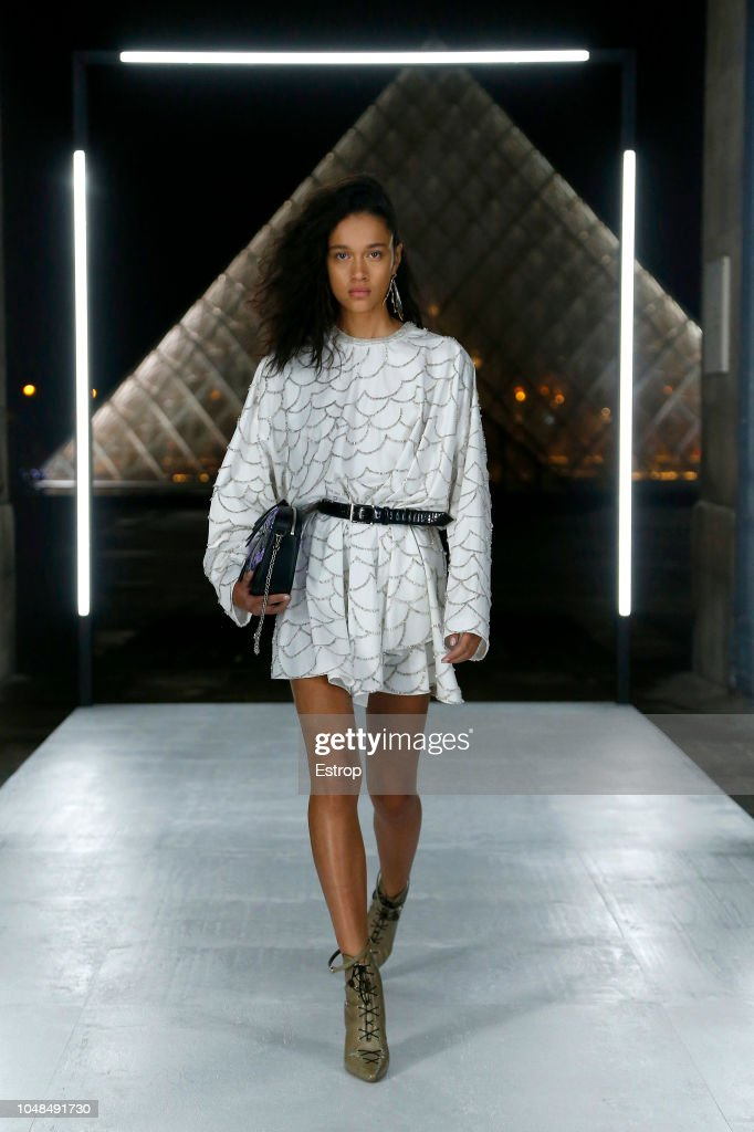 Louis Vuitton : Runway - Paris Fashion Week Womenswear Spring/Summer 2019 : Nachrichtenfoto