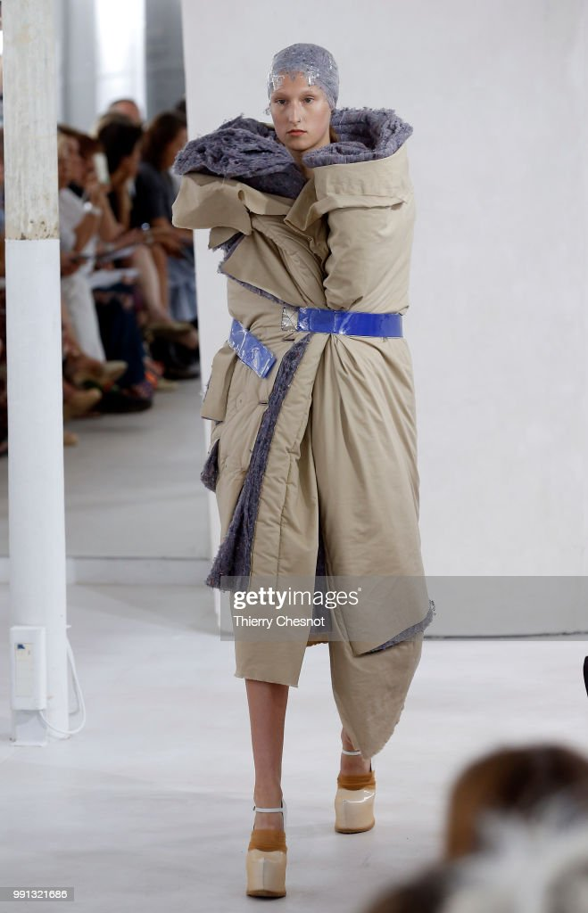 model-walks-the-runway-during-the-maison-margiela-haute-couture-fall-picture-id991321686