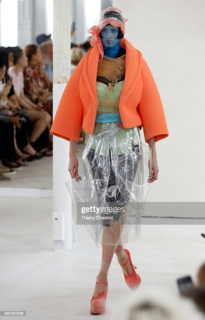 model-walks-the-runway-during-the-maison-margiela-haute-couture-fall-picture-id991322336