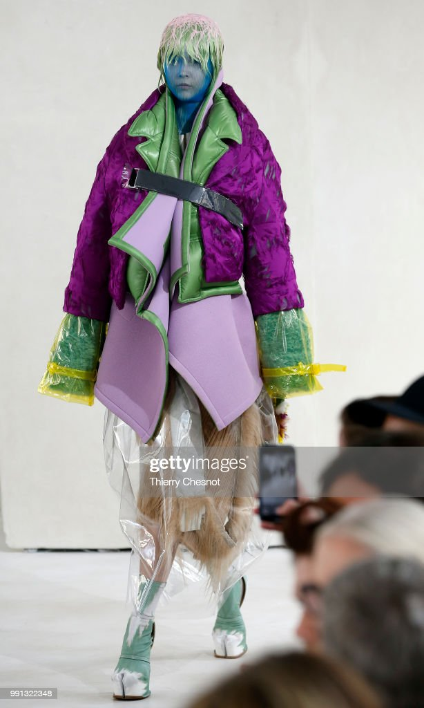 model-walks-the-runway-during-the-maison-margiela-haute-couture-fall-picture-id991322348