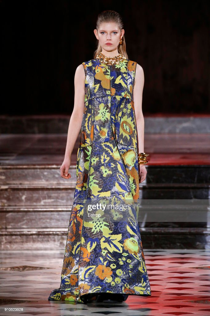model-walks-the-runway-during-the-maison-rabih-kayrouz-spring-summer-picture-id910523528