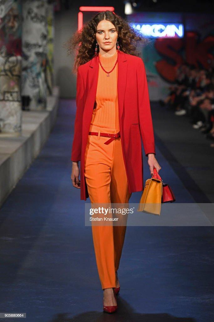 Runway - Marc Cain Fashion Show Berlin AW 18 : News Photo