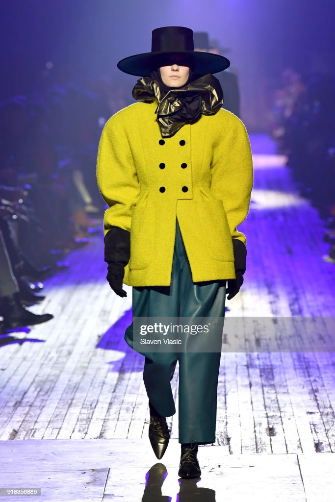 Marc Jacobs Fall 2018 Show : Nyhetsfoto