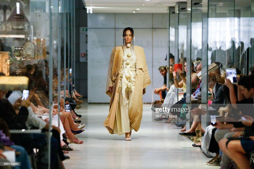 FRA: Maurizio Galante  : Runway - Paris Fashion Week - Haute Couture Fall Winter 2018/2019