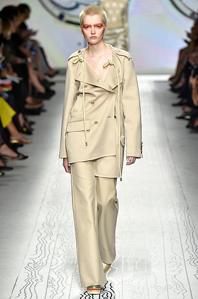 f5401b3f832d A model walks the runway during the Max Mara Ready to Wear fashion show as  part