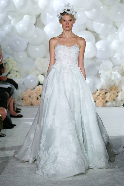 Mira Zwillinger - Presentation - New York Fashion Week: Bridal April ...