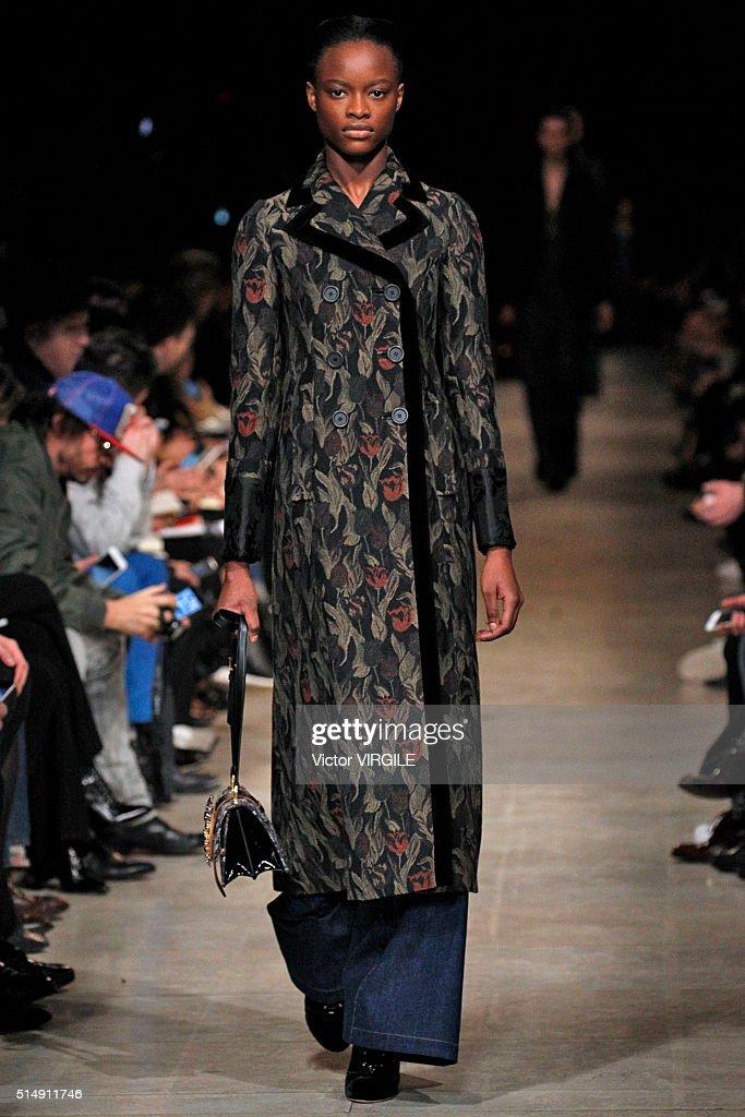 Miu Miu : Runway - Paris Fashion Week Womenswear Fall/Winter 2016 : News Photo