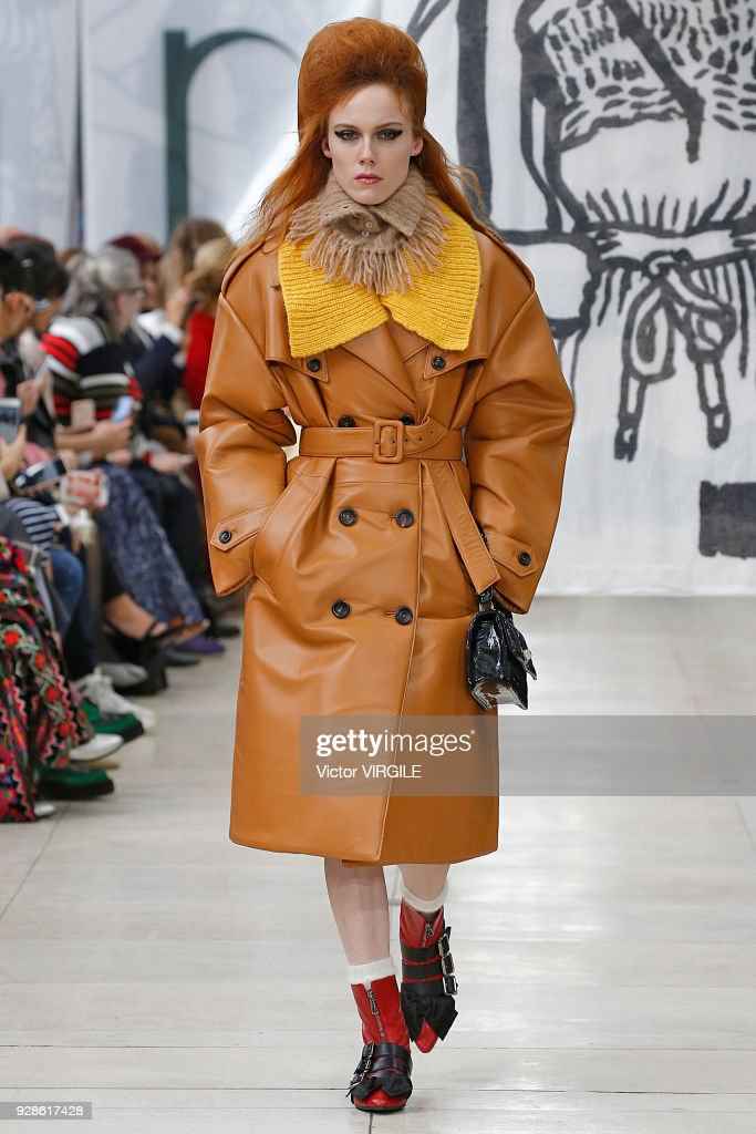 284c1c3021d9 Miu Miu   Runway - Paris Fashion Week Womenswear Fall Winter 2018 2019