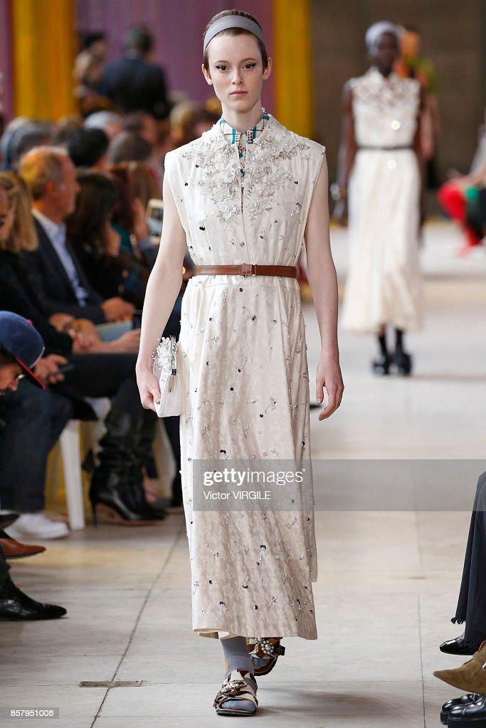 a4434d28c424 Miu Miu   Runway - Paris Fashion Week Womenswear Spring Summer 2018   News  Photo