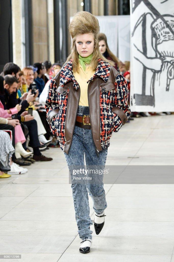 Miu Miu : Runway - Paris Fashion Week Womenswear Fall/Winter 2018/2019 : News Photo