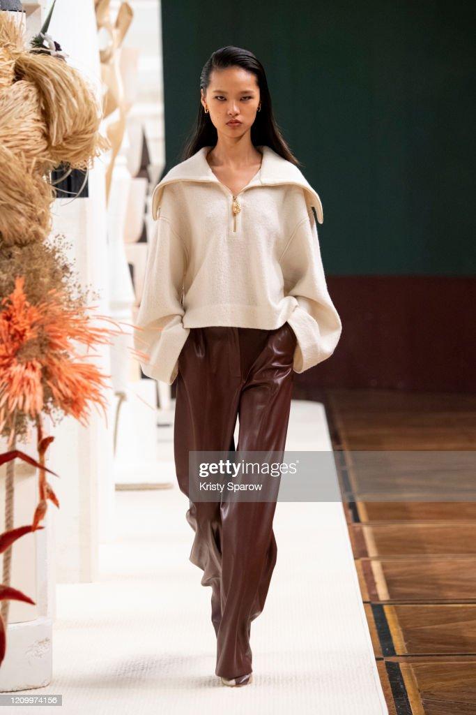 Nanushka : Runway - Paris Fashion Week Womenswear Fall/Winter 2020/2021 : News Photo