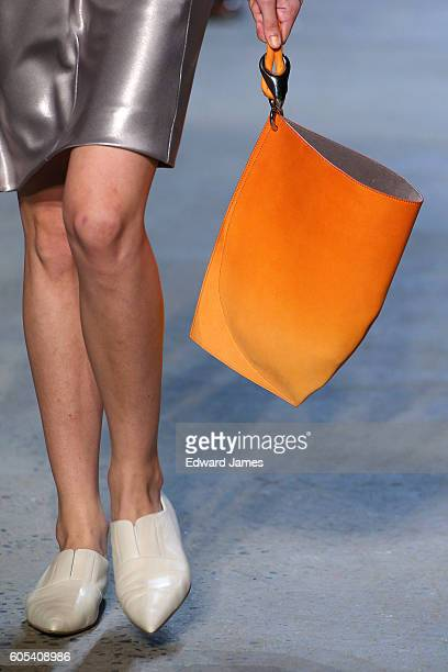 A model walks the runway during the Narciso Rodriguez fashion show at Sir Stage37 508 West 37th Street on September 13 2016 in New York City