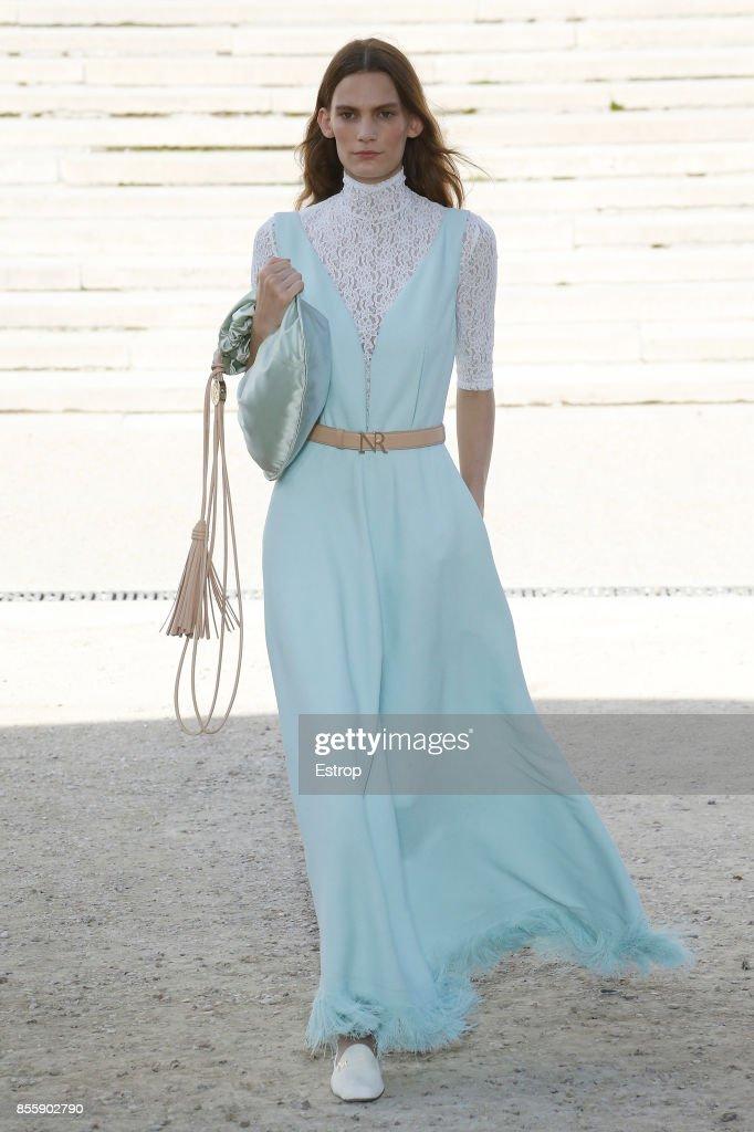 Nina Ricci : Runway - Paris  Fashion Week Womenswear Spring/Summer 2018 : ニュース写真