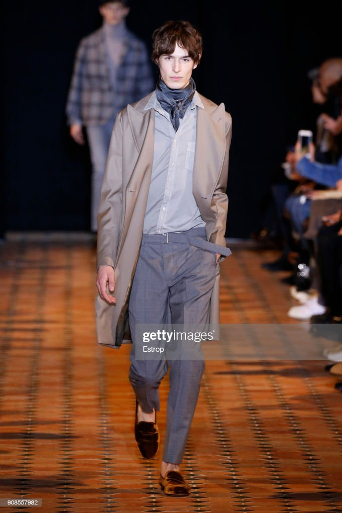 Officine Generale : Runway - Paris Fashion Week - Menswear F/W 2018-2019