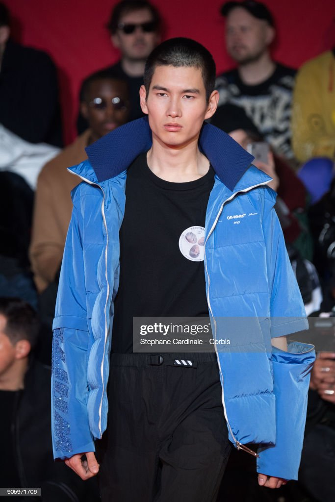 Off-White Runway :  Paris Fashion Week - Menswear Fall Winter 2018/2019