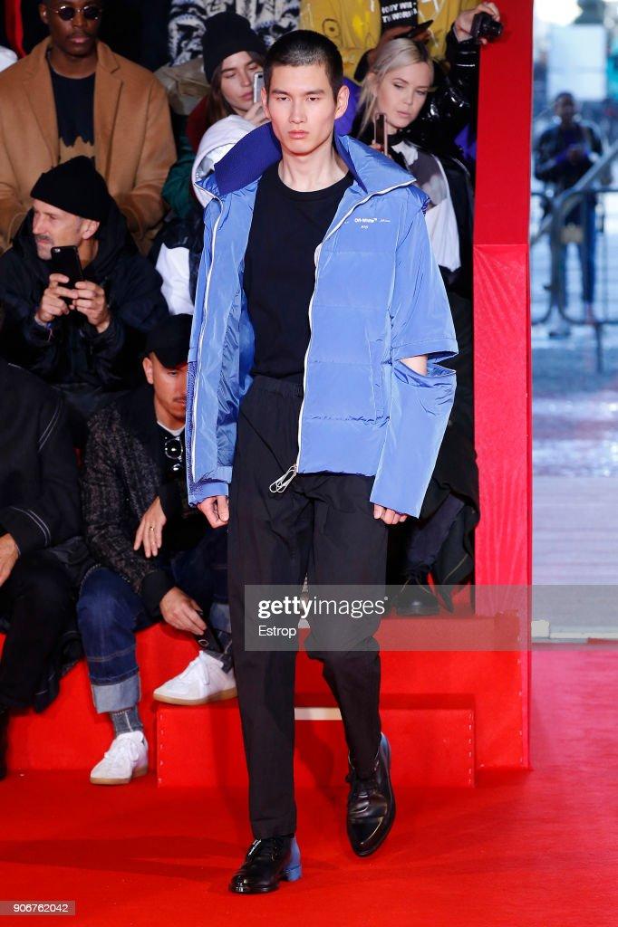 Off/White : Runway - Paris Fashion Week - Menswear F/W 2018-2019 : ニュース写真