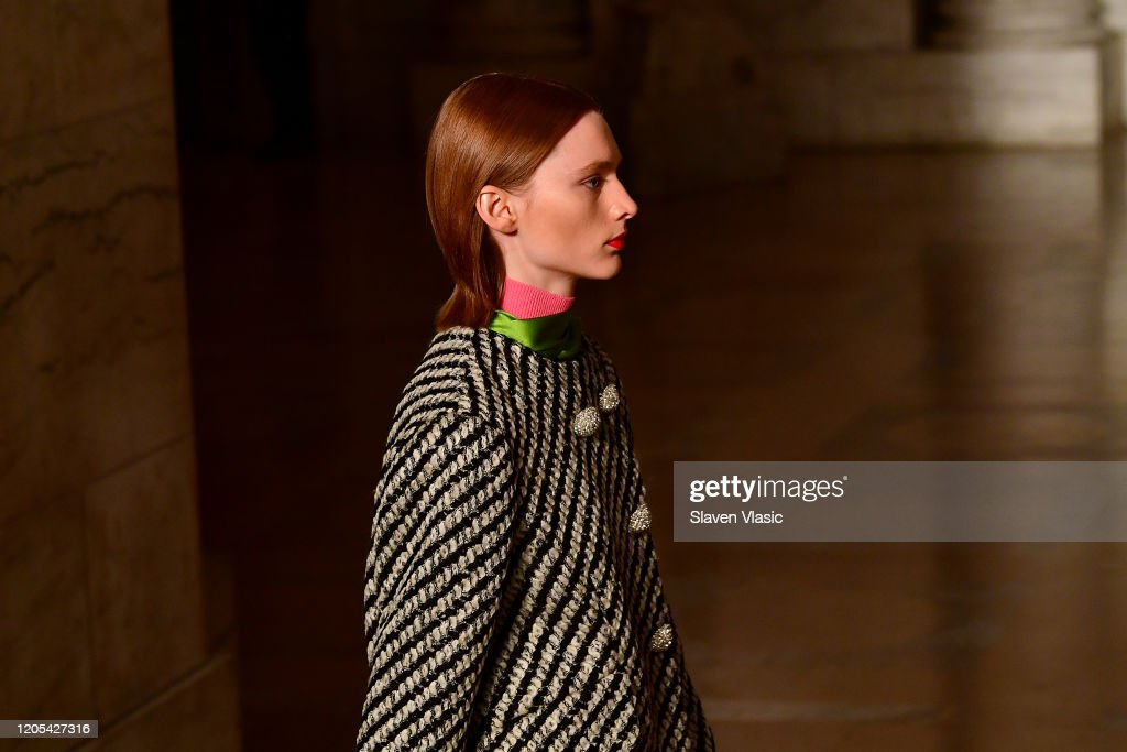 Oscar De La Renta - Runway - February 2020 - New York Fashion Week : ニュース写真