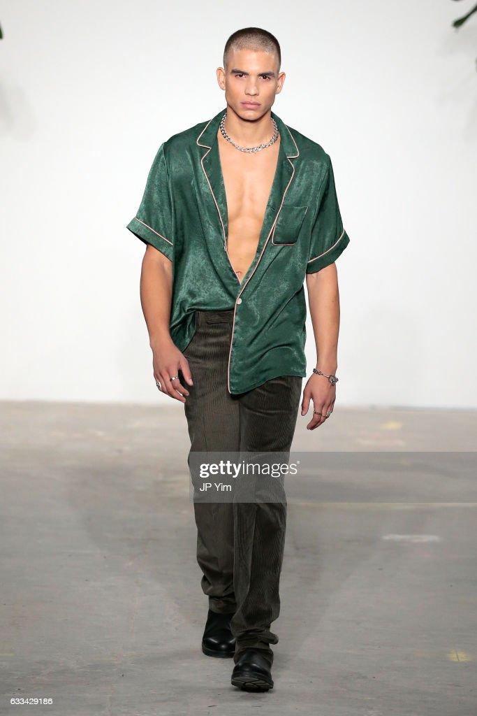 Palmiers Du Mal - Runway - NYFW: Men's : News Photo