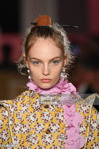 A model walks the runway during the Prada Resort 2020 Collection on May 02 2019 in New York City