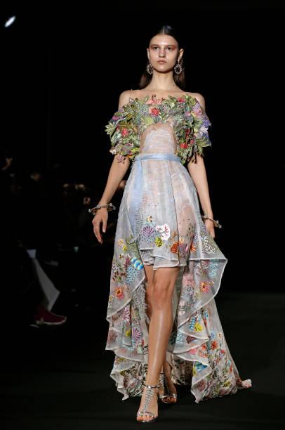 FRA: Rahul Mishra : Runway - Paris Fashion Week - Haute Couture Spring/Summer 2020