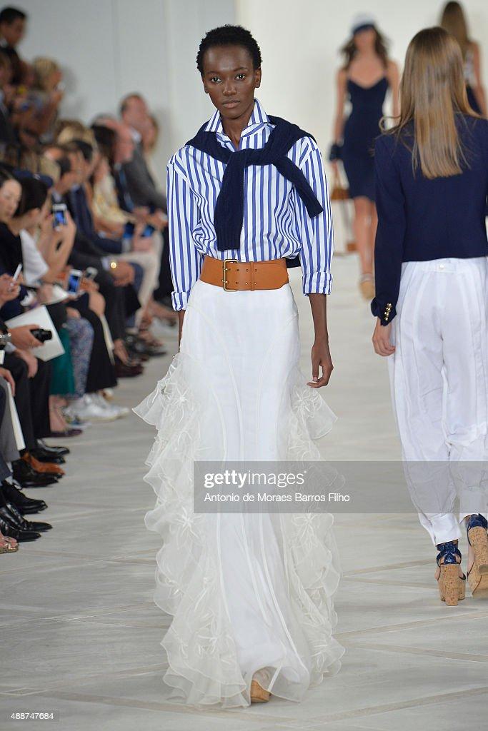 Ralph Lauren - Spring 2016 New York Fashion Week: The Shows : News Photo