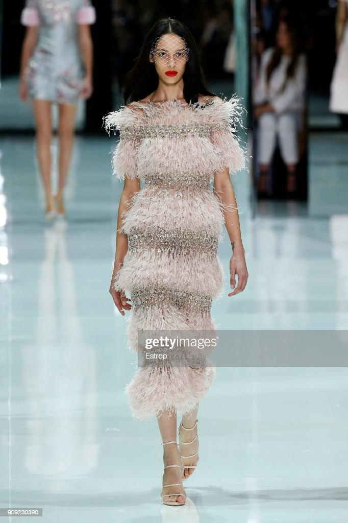 model-walks-the-runway-during-the-ralph-russo-spring-summer-2018-show-picture-id909230390