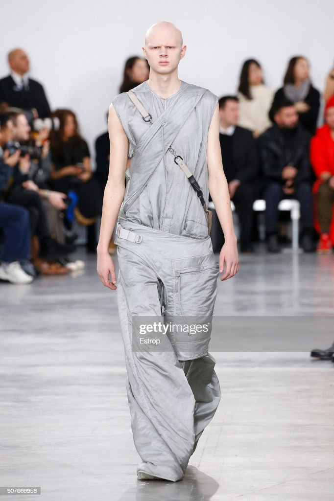 Rick Owens : Runway - Paris Fashion Week - Menswear F/W 2018-2019