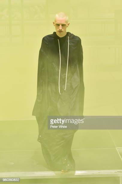 A model walks the runway during the Rick Owens Menswear Spring/Summer 2019 show as part of Paris Fashion Week on June 21 2018 in Paris France