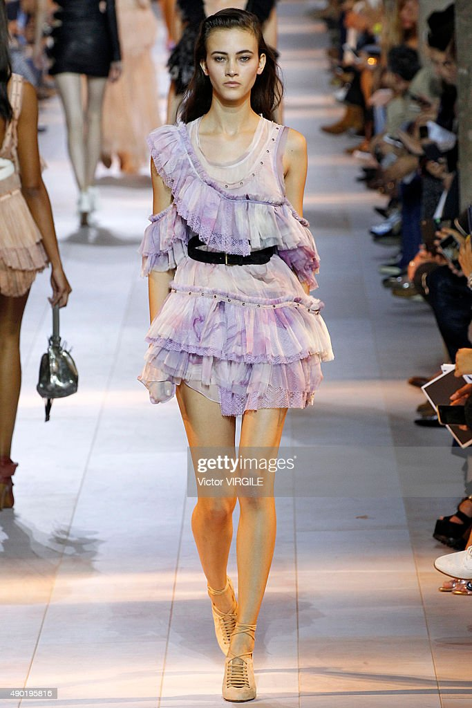 Roberto Cavalli - Runway - Milan Fashion Week SS16 : News Photo