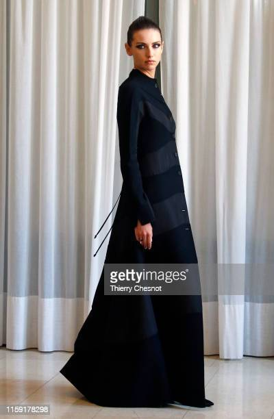A model walks the runway during the RR331 Haute Couture Fall/Winter 2019 2020 show as part of Paris Fashion Week on June 30 2019 in Paris France