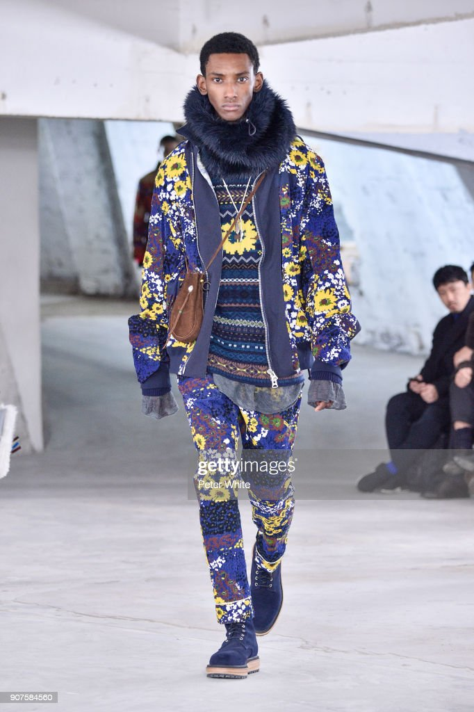 Sacai : Runway - Paris Fashion Week - Menswear F/W 2018-2019