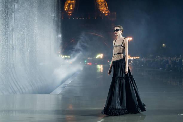 FRA: Saint Laurent : Runway - Paris Fashion Week - Womenswear Spring Summer 2022
