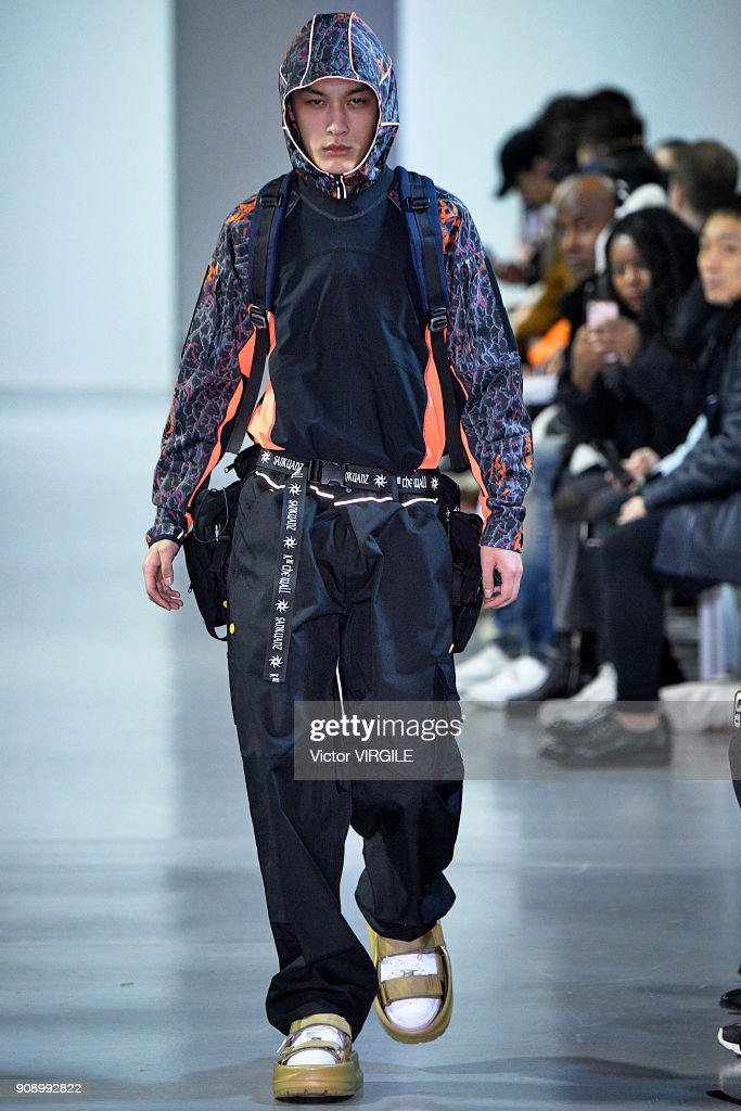 Sankuanz : Runway - Paris Fashion Week - Menswear F/W 2018-2019 : ニュース写真