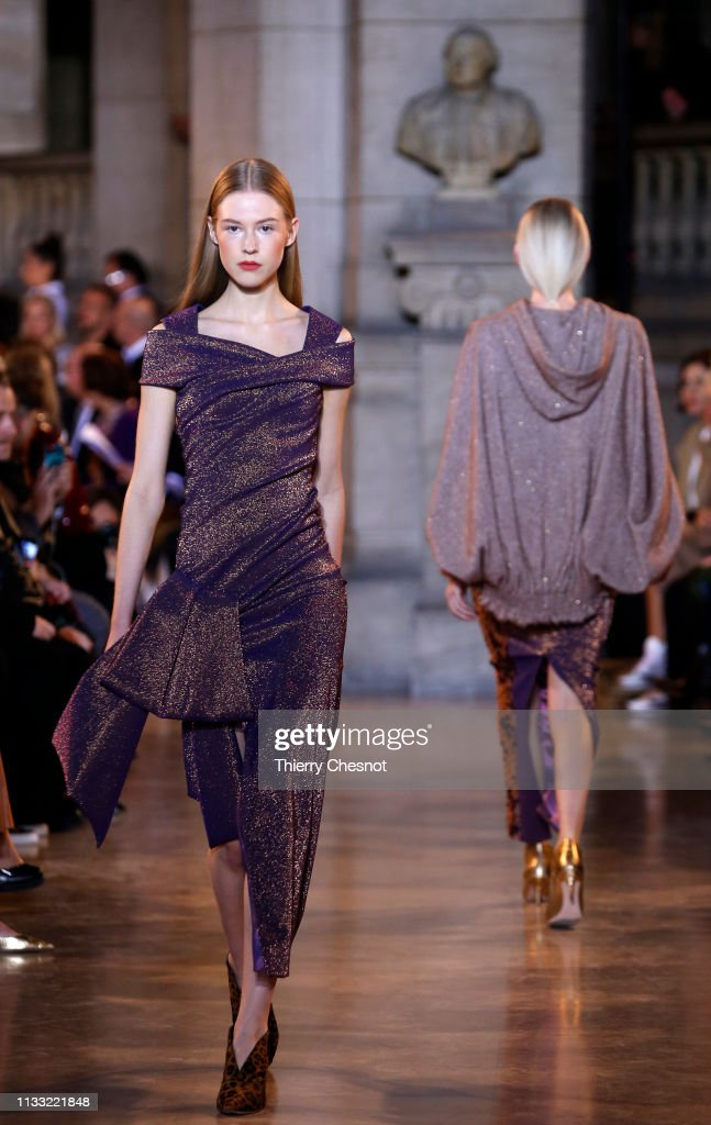 model-walks-the-runway-during-the-talbot-runhof-show-as-part-of-the-picture-id1133221848