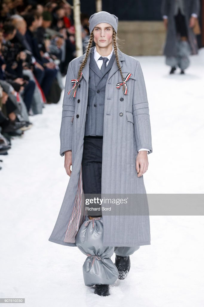 Thom Browne : Runway - Paris Fashion Week - Menswear F/W 2018-2019