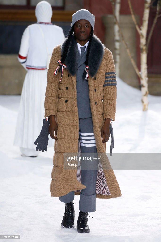 Thom Browne : Runway - Paris Fashion Week - Menswear F/W 2018-2019 : News Photo